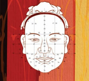 Chinese medicine face reading allows you to see health issues on your face