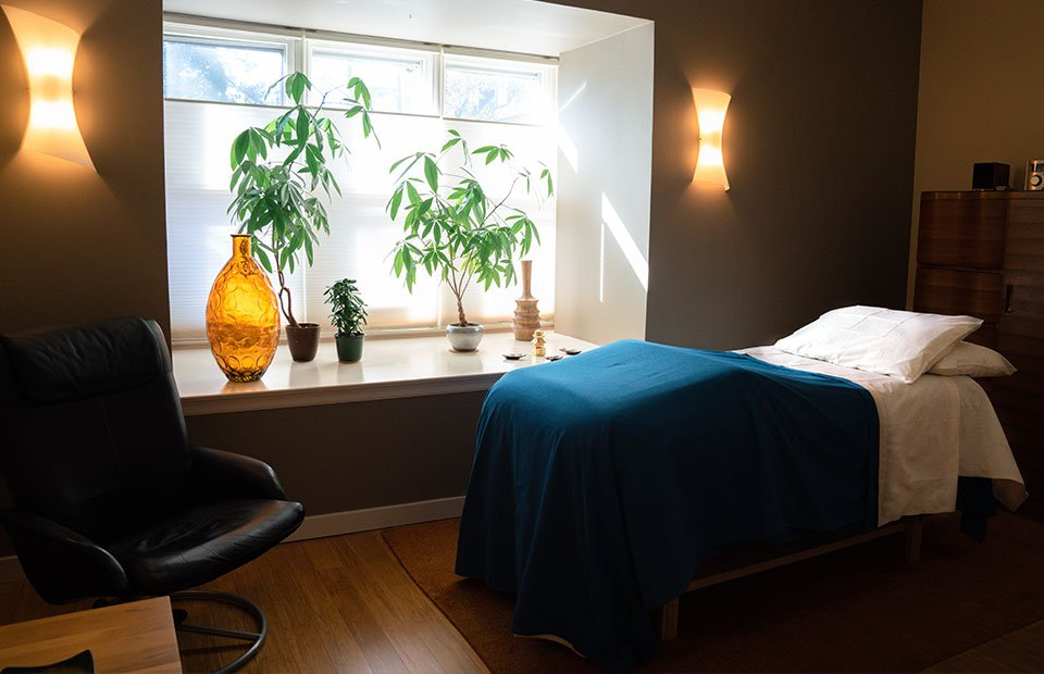 Treatment room 1 Empirical Point Acupuncture