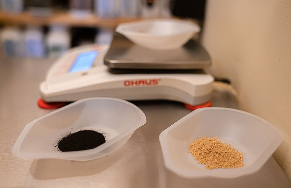Custom herbal compounding at Empirical Point Acupuncture